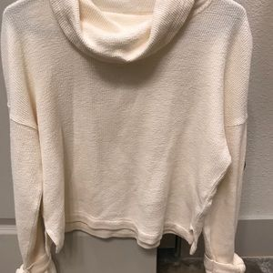 Madewell cowl neck sweater sz small